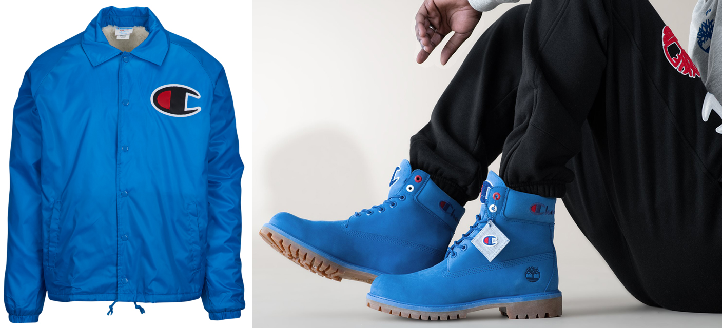Timberland Champion Blue Boot and