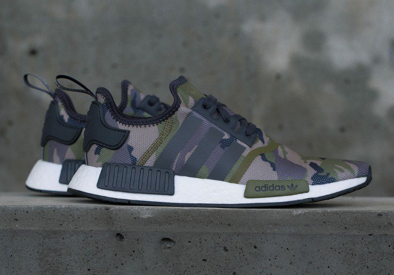 buy popular c3f32 73779 adidas NMD Camo Sneakers and Clothing | SneakerFits.com