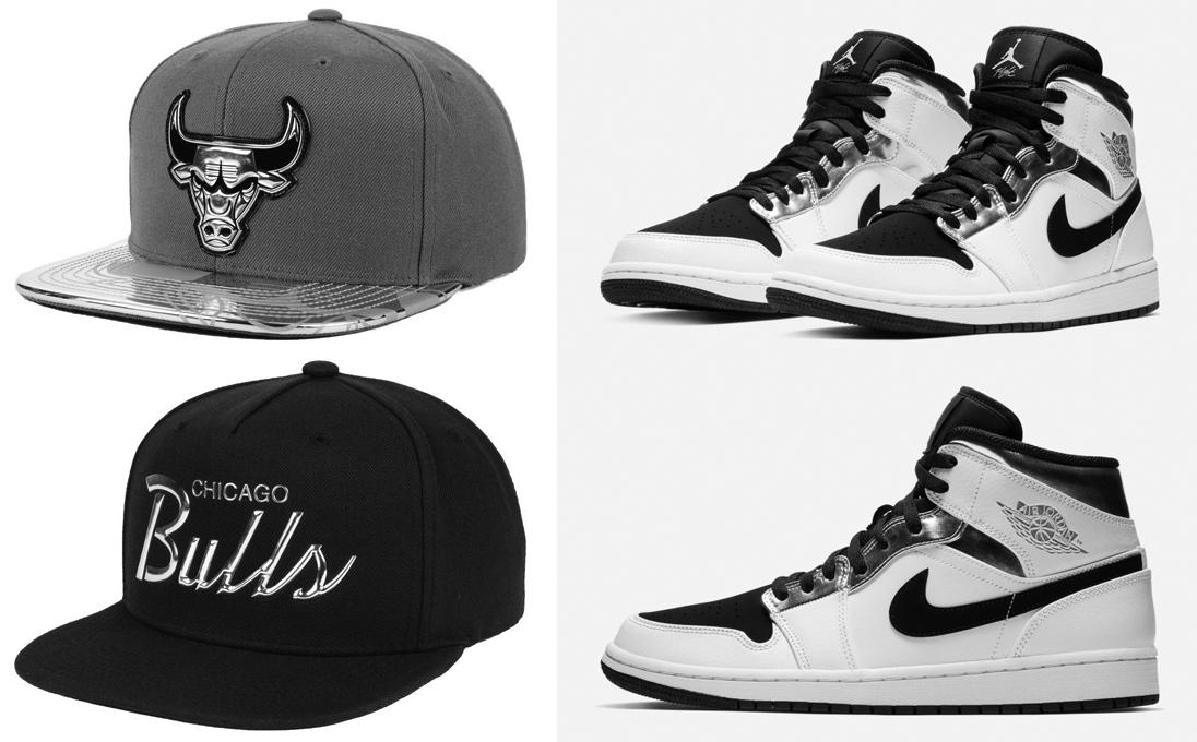 Mitchell /& Ness San Antonio Spurs Snapback Hat Air Jordan 11 Retro Black Concord
