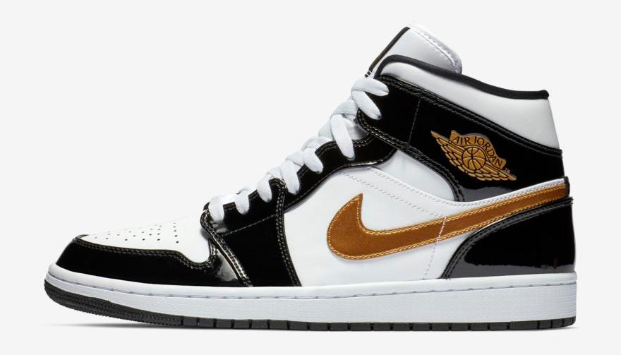 air-jordan-1-mid-black-gold-patent-sneaker-outfits
