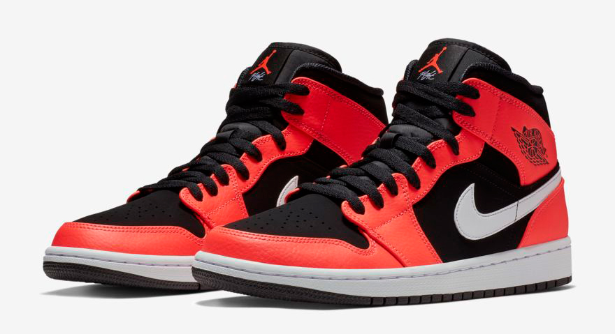 separation shoes db0fe 5cf53 air-jordan-1-mid-infrared-23-clothing-match