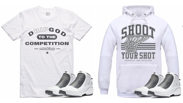 "71fd2dfc1312 Air Jordan 19 ""Flint"" x Retro Kings Shirts and Hoodies. Made to match with  Melo s ..."