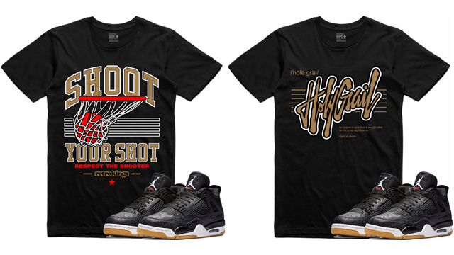 air-jordan-4-black-laser-sneaker-tees-retro-kings