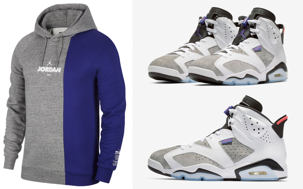6979ba6e468 Air Jordan 6 Flint Hoodies to Match | SneakerFits.com