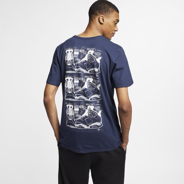 air-jordan-6-flint-sneaker-shirt-match-5