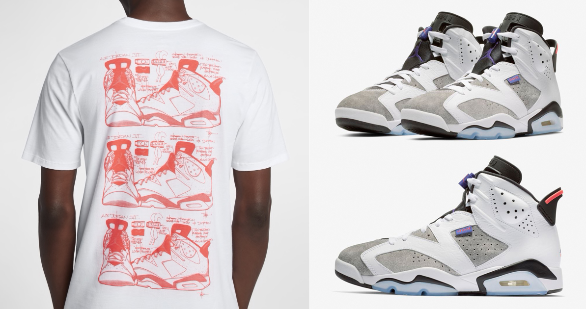 air-jordan-6-flint-sneaker-shirt-match