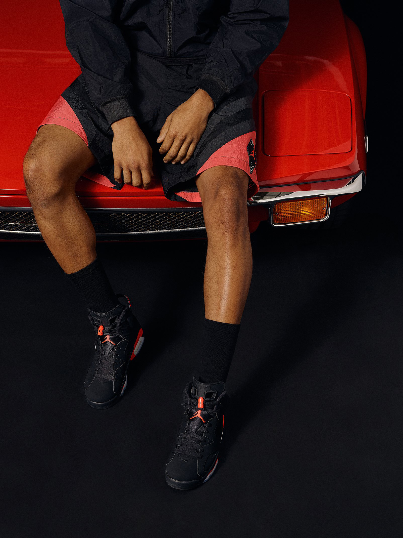 best loved 89cb5 75759 Jordan 6 Infrared Apparel KITH Release | SneakerFits.com