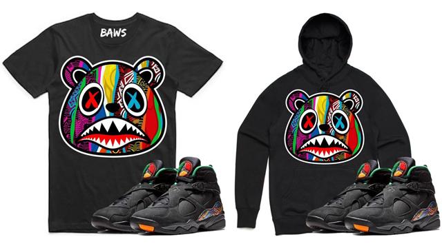 """aece3f32804f83 Air Jordan 8 """"Air Raid"""" x Boogie BAWS Clothing"""