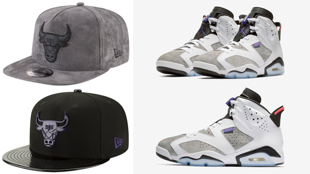 jordan-6-flint-grey-bulls-caps-to-match