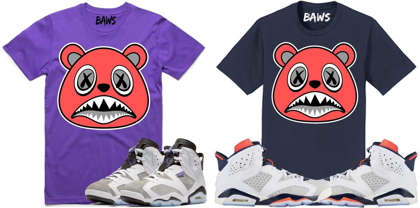 db969985954 Jordan 6 Flint Tinker BAWS Sneaker Tees | SneakerFits.com