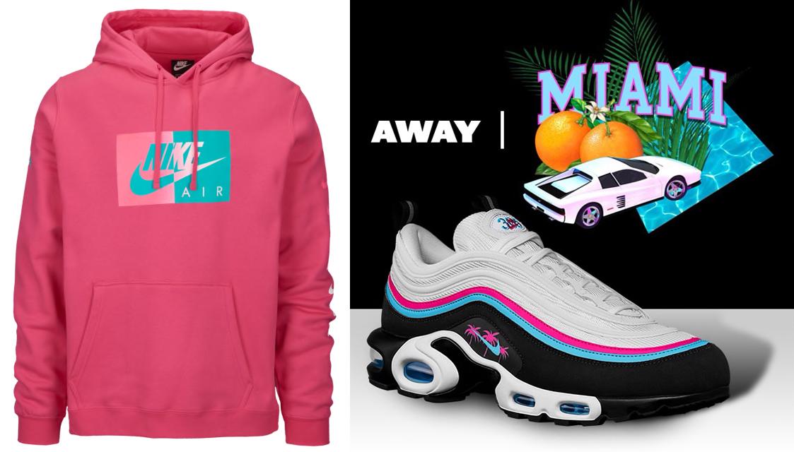 Air Max 97 Plus Miami Away Nike Hoodie |
