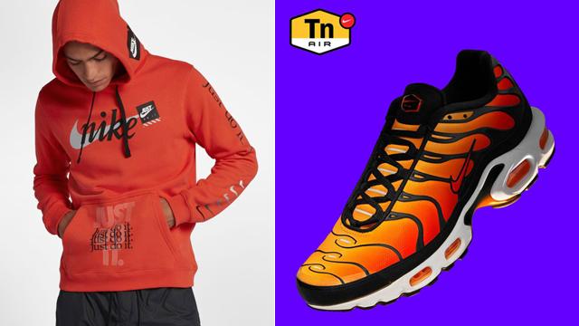 Nike air max plus og orange