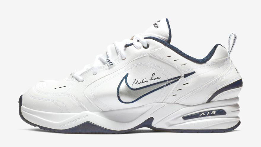 nike-martine-rose-air-monarch-4-white-navy-release-date
