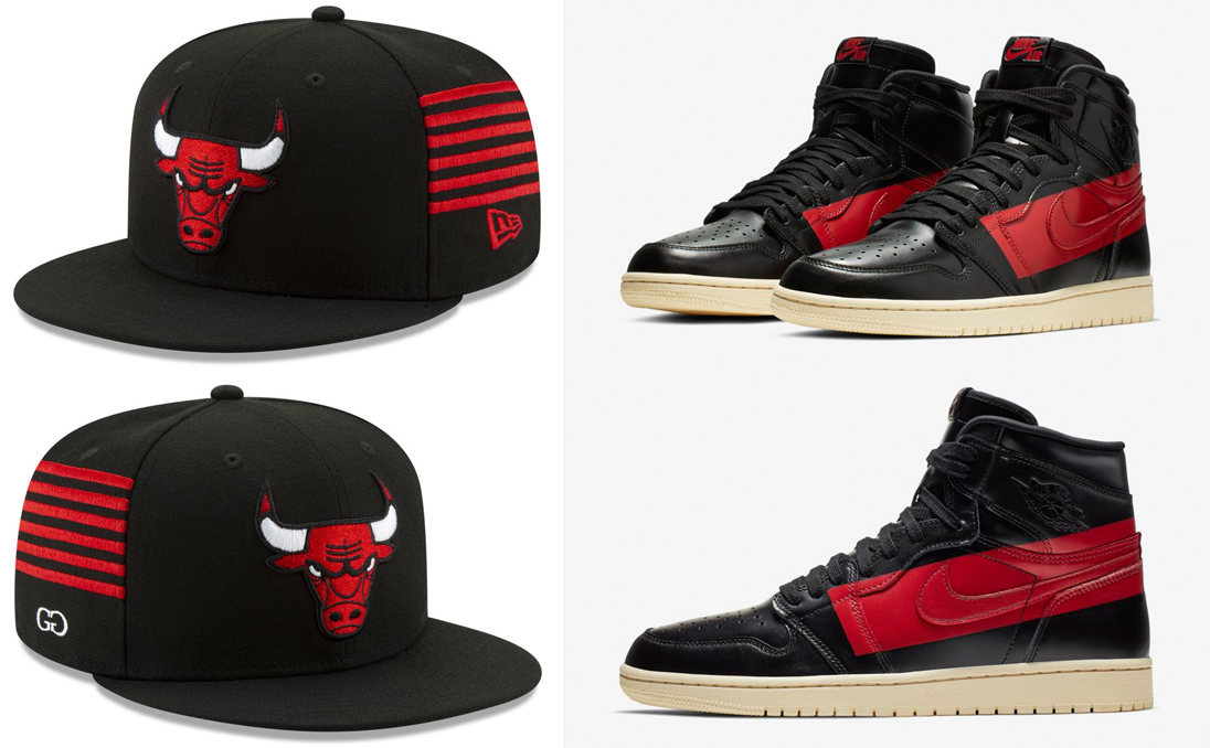 c4467e379fae Air Jordan 1 Couture Bulls Hat Match