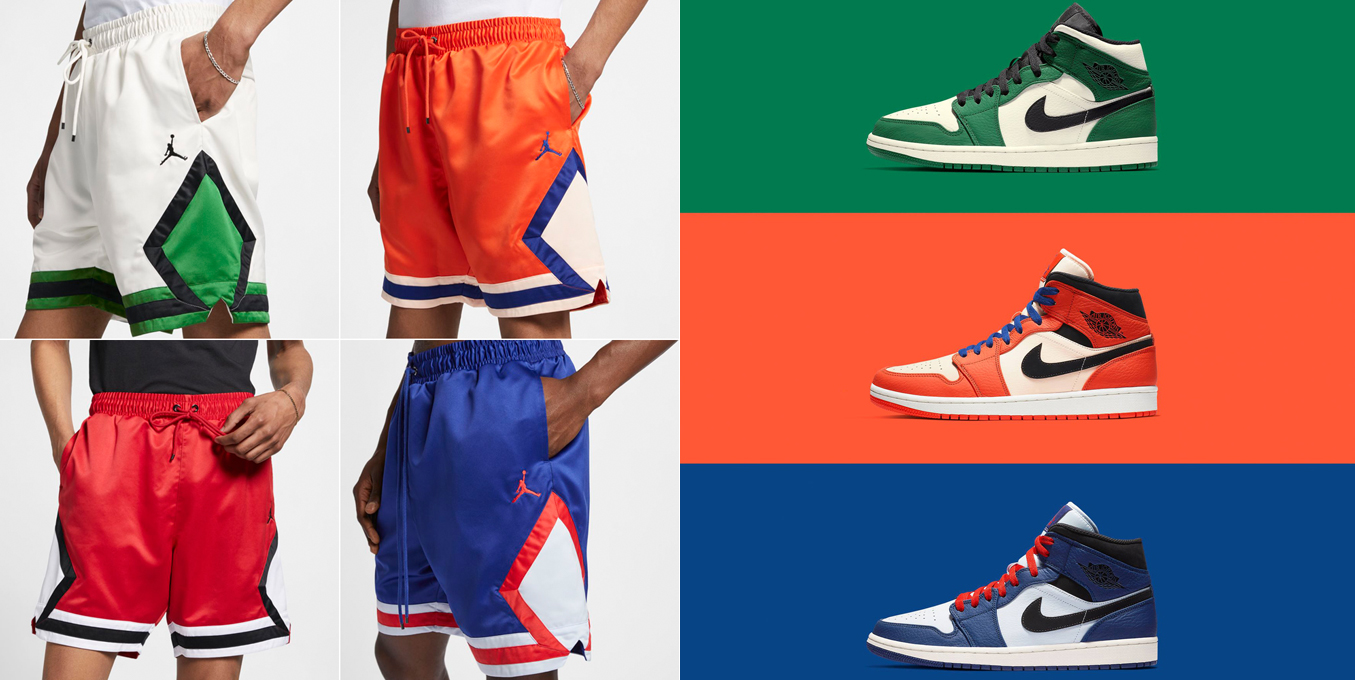 Air Jordan 1 Mid Formidable Foes Shorts