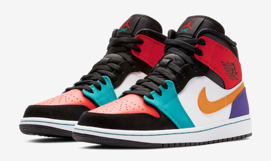 0da474589207 air-jordan-1-mid-multi-color-clothing-match