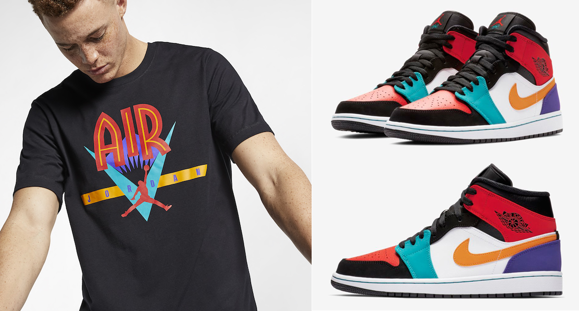 air-jordan-1-mid-multi-color-shirts