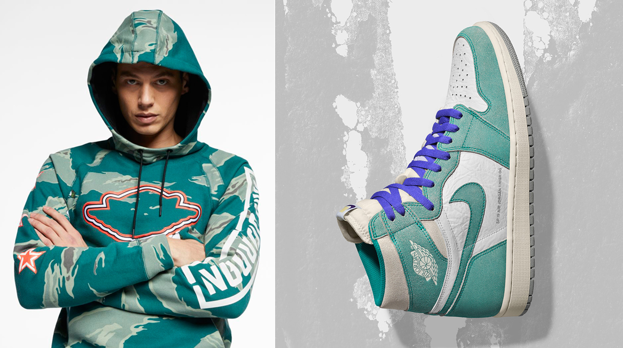 bc6a4a83199 Air Jordan 1 Turbo Green Clothing Match | SneakerFits.com