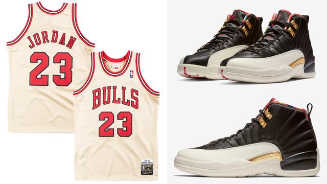 air-jordan-12-chinese-new-year-michael-jordan-gold-jersey