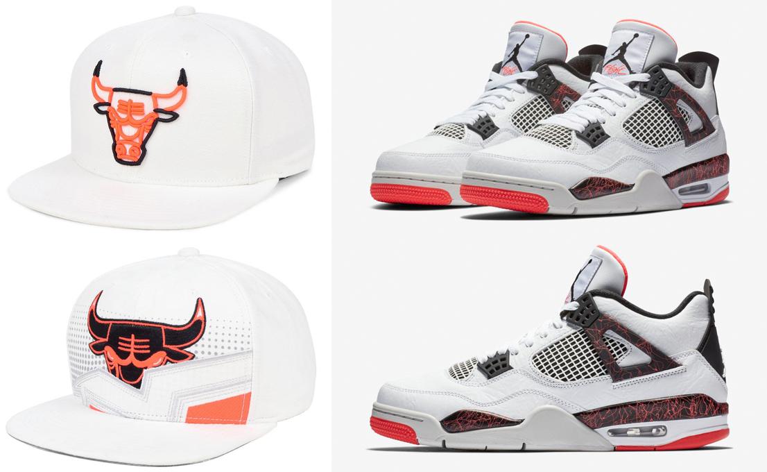 air-jordan-4-hot-lava-bright-crimson-pale-citron-hats