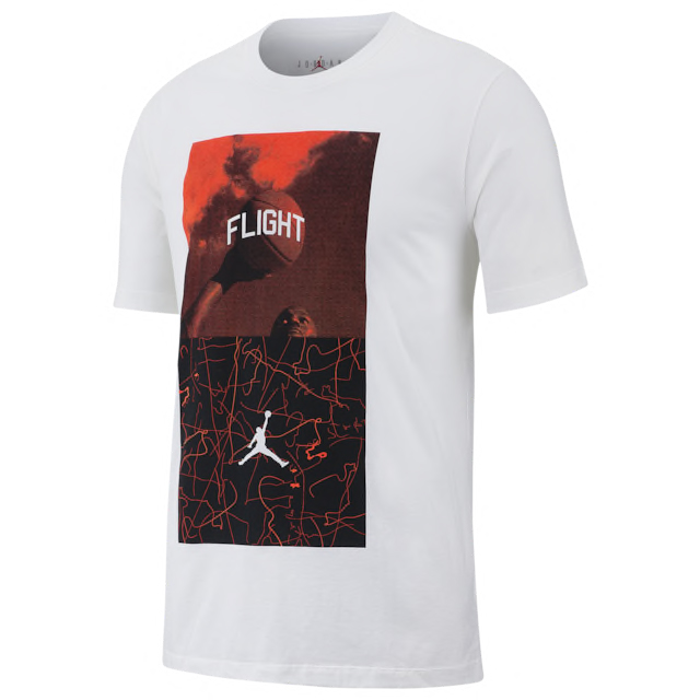 9ed7e7ee0488 air-jordan-4-hot-lava-shirt-bright-crimson-. Jordan Retro 4 Flight Nostalgia  ...