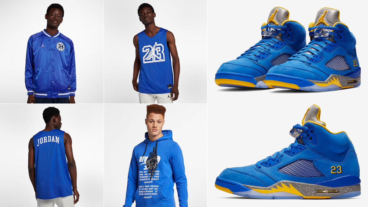 air-jordan-5-laney-clothing-match