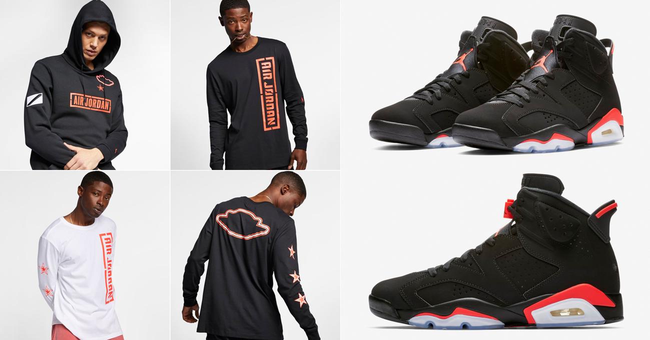 7af6e46880e754 air-jordan-6-black-infrared-clothing-match