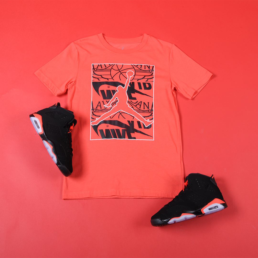 8c267ed5bf5 Air Jordan 6 Black Infrared Shirts - DREAMWORKS