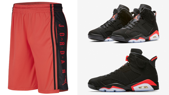 air-jordan-6-infrared-black-shorts