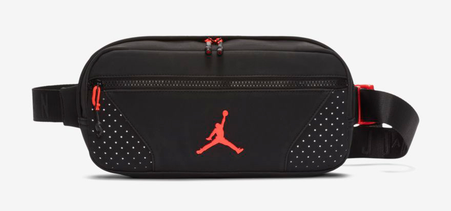 a728095e373 Air Jordan 6 Black Infrared Crossbody Bag | SneakerFits.com