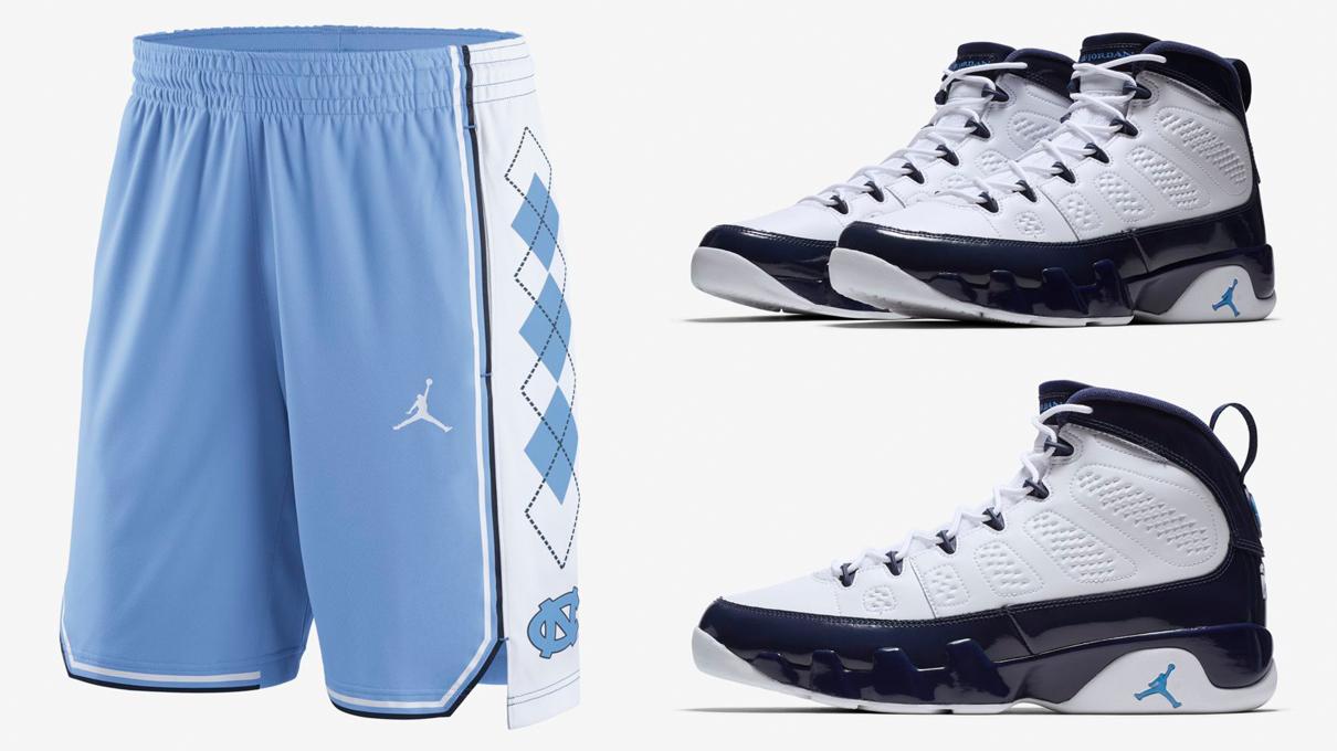 air-jordan-9-unc-shorts