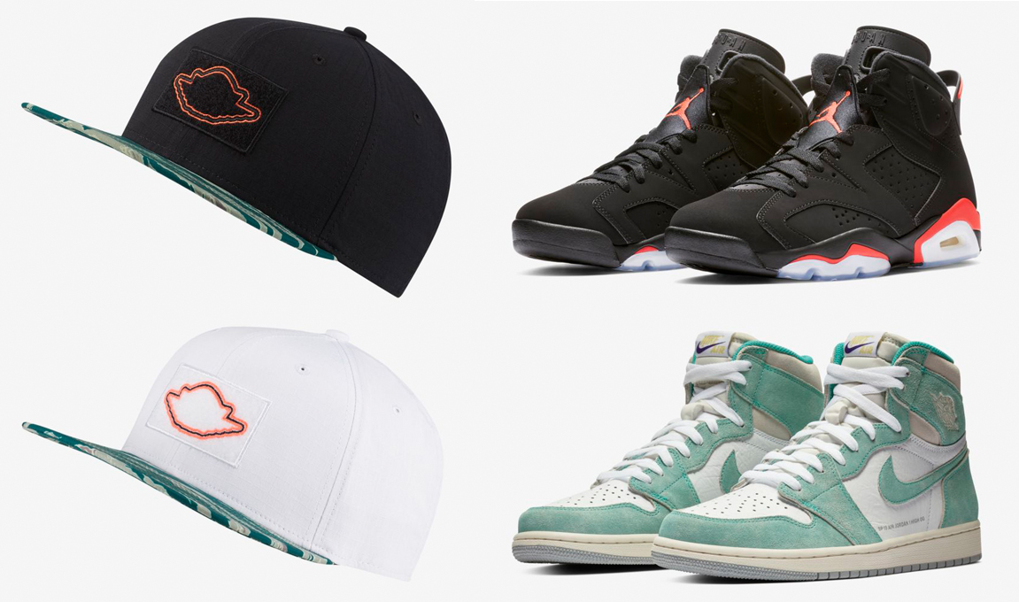 d909e3b1c1950e Hats to Match Jordan Infrared Turbo Green