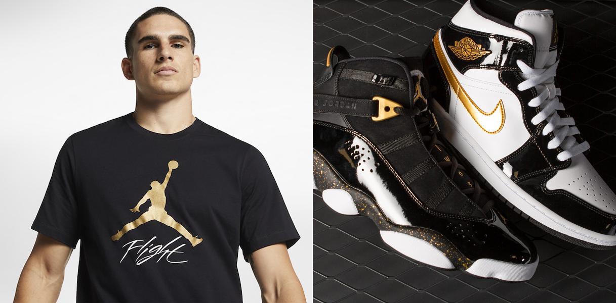 air-jordan-metallic-gold-shoes-shirt