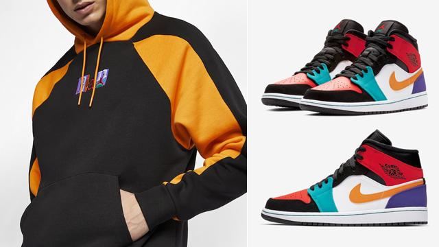 jordan-1-mid-multi-color-hoodie