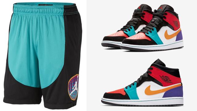 jordan-1-mid-multi-color-shorts