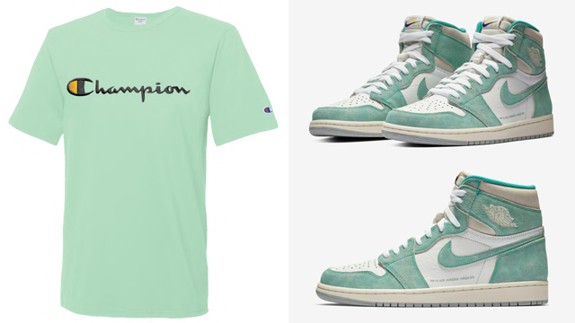 jordan-1-turbo-green-champion-tees