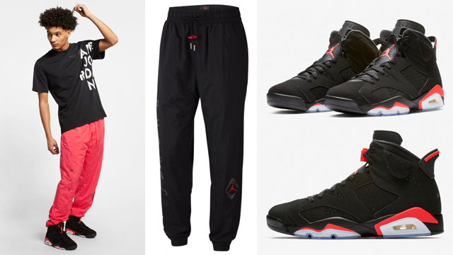 jordan-6-black-infrared-nike-air-pant