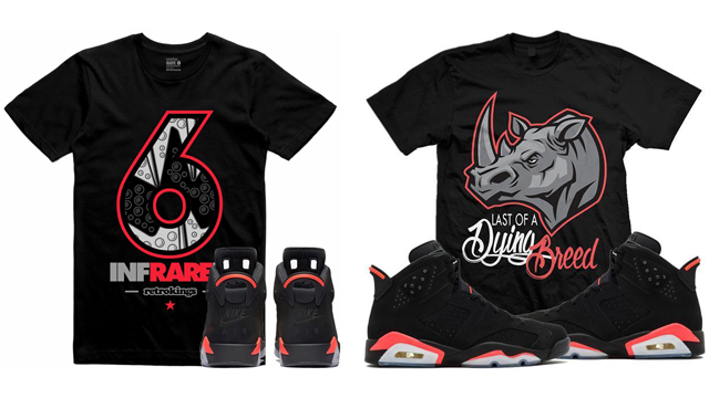 "purchase cheap 7ade5 d7fef Air Jordan 6 ""Black Infrared"" 2019 Clothing"