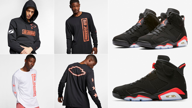 "6b741b4c7563 Jordan ""City of Flight"" All-Star Collection to Match the Air Jordan 6  ""Black Infrared"""