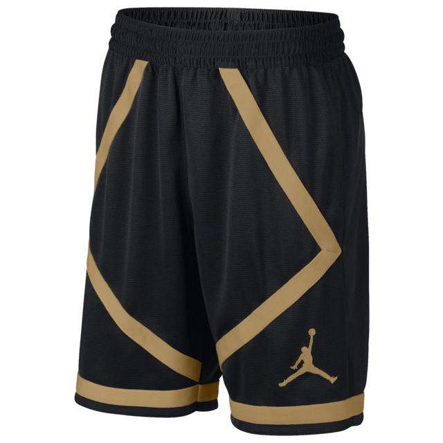 jordan-metallic-gold-black-shorts-1