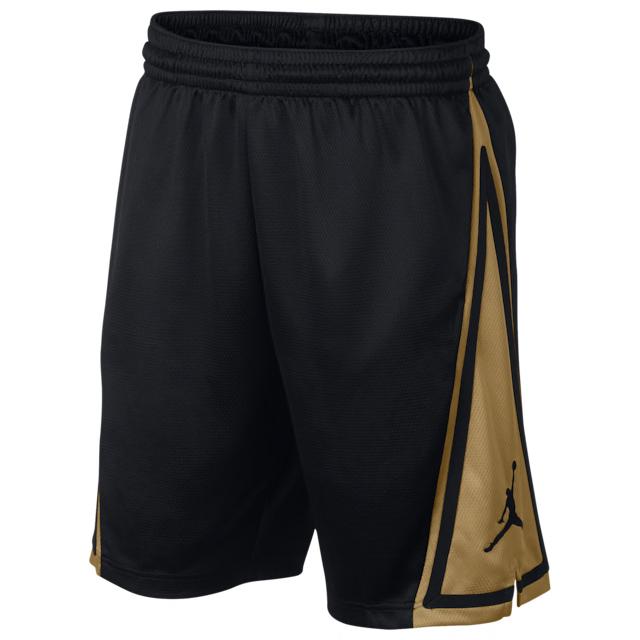 jordan-metallic-gold-black-shorts-2
