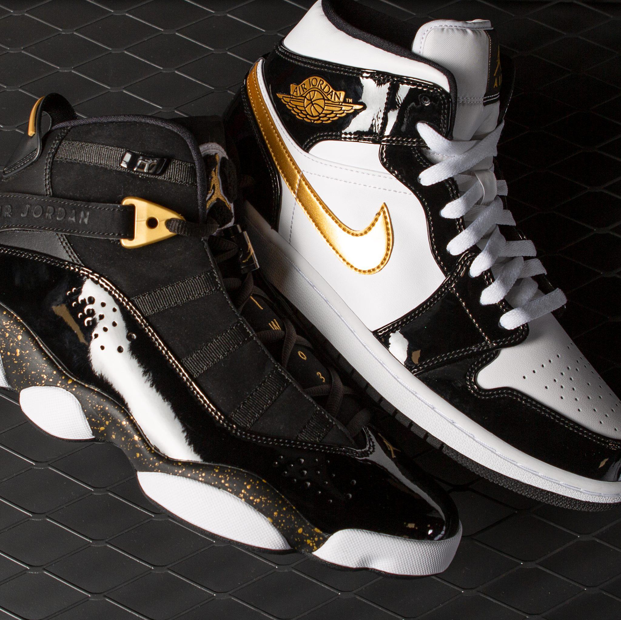 jordan-metallic-gold-shoes