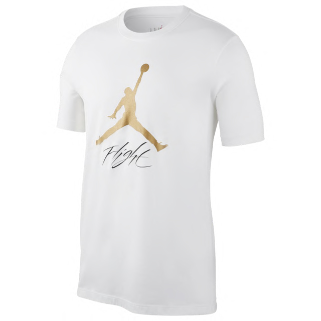 jordan-metallic-gold-white-shirt