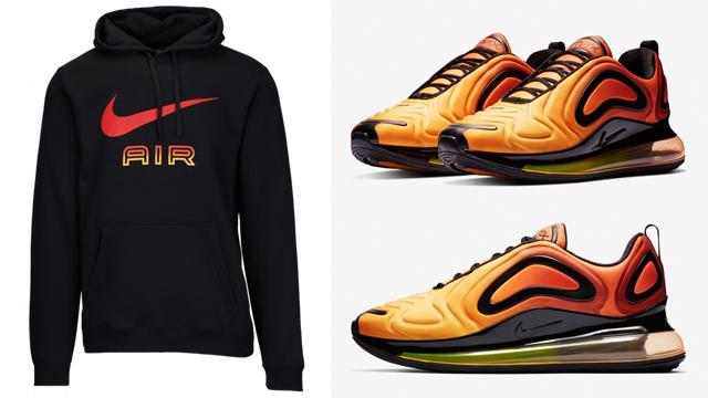 Precursor Ru Corroer  Nike Air Max 720 Sunset Hoodies | SneakerFits.com