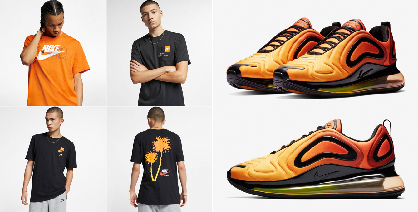 Nike Air Max 720 Sunrise Shirts to Match |