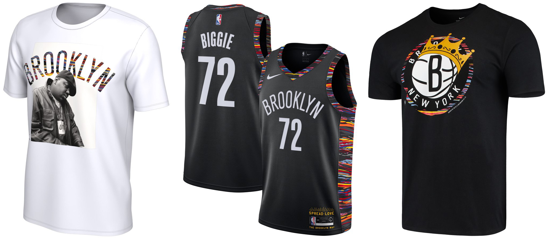 Official Brooklyn Nets T Shirts, Nets Tees, Nets Shirts