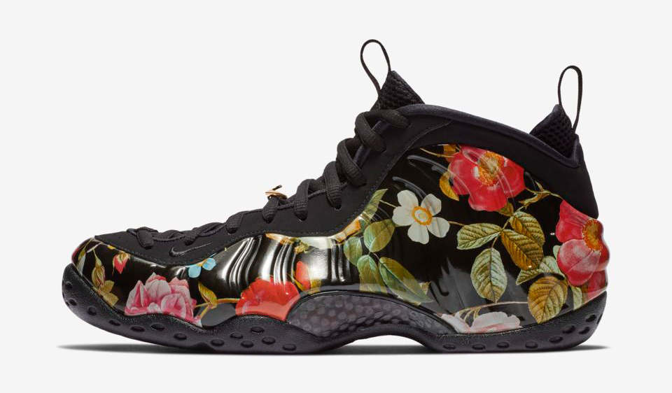 nike-foamposite-floral-clothing-match