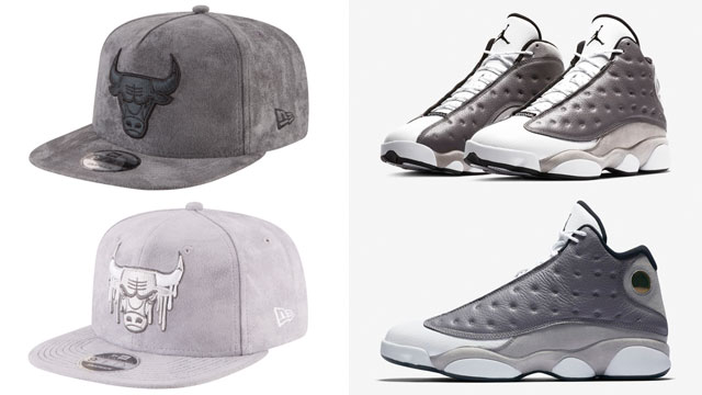 air-jordan-13-atmosphere-grey-bulls-caps-to-match