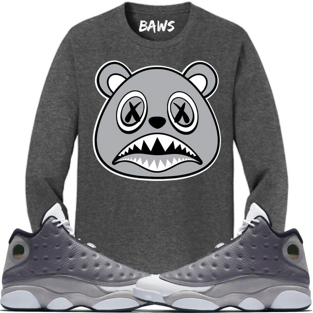 air-jordan-13-atmosphere-grey-sneaker-shirt-baws-clothing