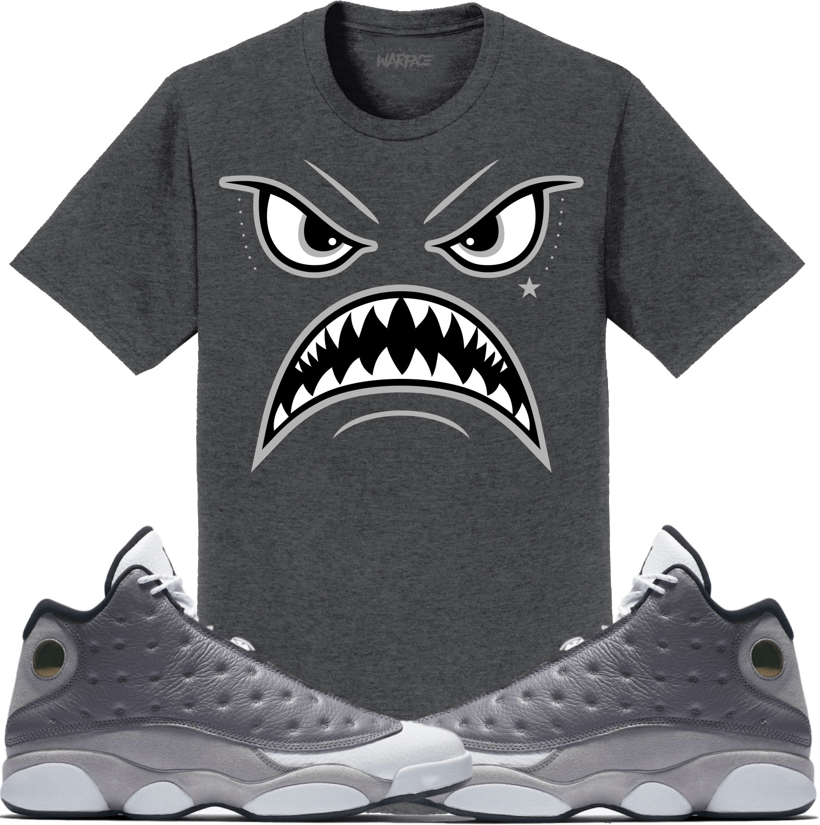 air-jordan-13-atmosphere-grey-sneaker-tee-shirt-match-1